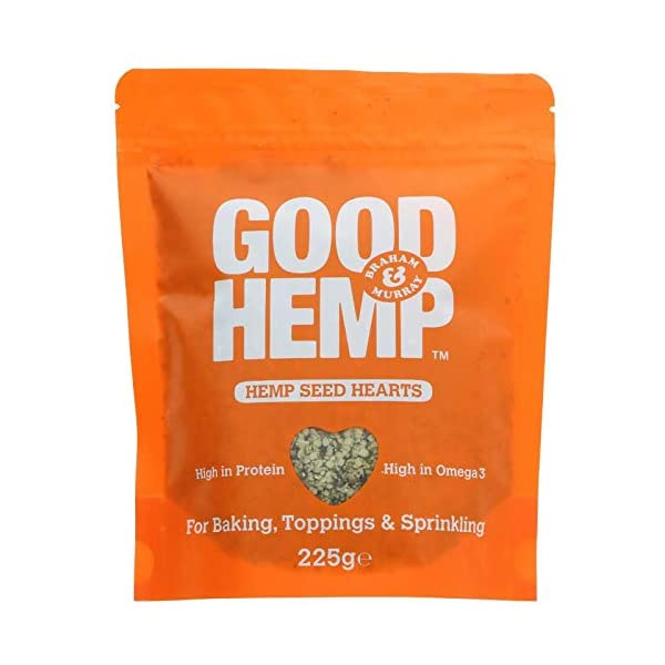 Good Hemp Food Hemp Seed Hearts 225g (Pack of 6)