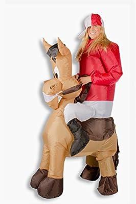 Trendy-Home Disfraz Hinchable Caballo Comic Pony Jinete Carnaval ...