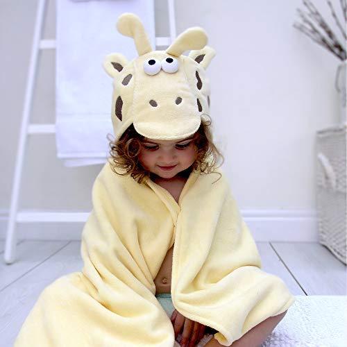 Bathing Bunnies Giraffe Baby/Toddler Hooded Towel Light Yellow