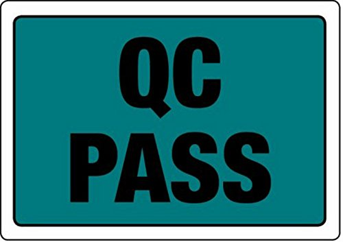Swiftpak 86 x 63mm'QC Pass' Labels (Roll of 500) Swiftpak Limited LAVLQPA1