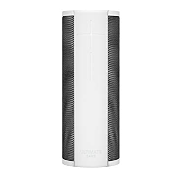 Ultimate Ears MEGABLAST Portable Wi-Fi / Bluetooth Speaker with hands-free Amazon Alexa voice control (waterproof) Blizzard