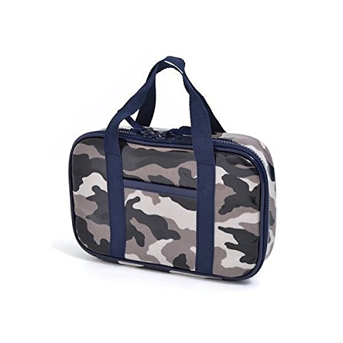 Kids sewing, sewing kit, Misasa camouflage gray made in Japan N2303410 of case on style (japan import)