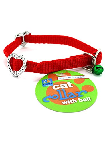Tiny's DI326 Cat Collar with Bell Case of 144