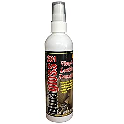 Duragloss 201 Milky White Vinyl & Leather Dressing - 8 Oz.