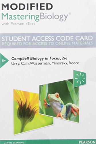 Campbell Biology In Focus Mod.Access