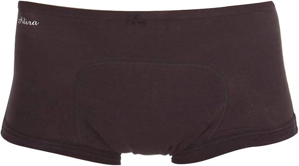 Adira - Pantis cálidos para mujer, de algodón, para menstruación, incontinencia marrón XXX-Large: Amazon.es: Ropa y accesorios