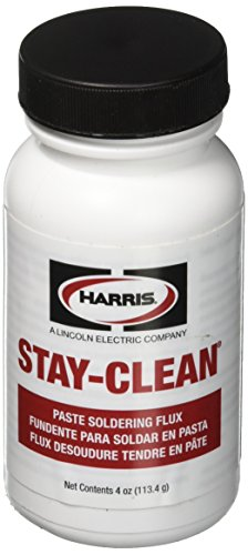Discover Bargain Harris SCPF4 Stay Clean Paste Soldering Flux, 4 oz. Jar