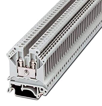 DIN Rail Terminal Blocks RAIL MOUNT TB (100 pieces): Amazon