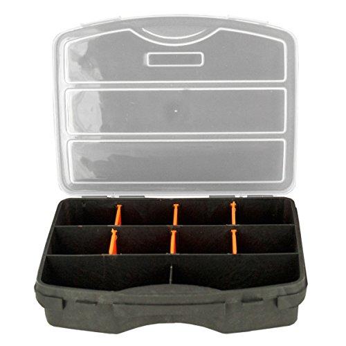 Kole Imports HR417 Snap-Close Tool Organizer Case