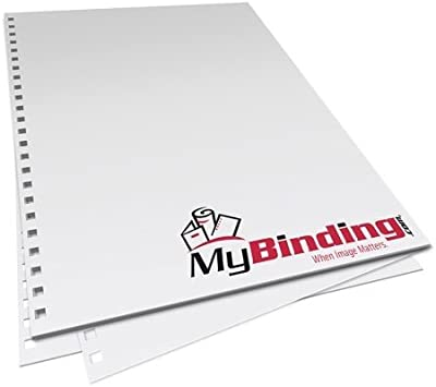 8.5 x 11 20lb 3:1 ProClick Pronto Pre-Punched Binding Paper 500 Sheets