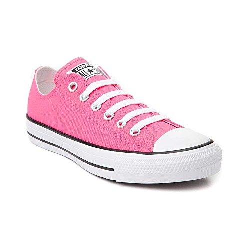 Converse Mens Sneakers Ox In Pelle Scamosciata Color Rosa Neon