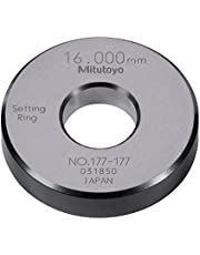 Mitutoyo 177-177 Setting Ring, 16mm Size, 10mm Width, 45mm Outside Diameter, Plus /-1.5Micrometer Accuracy
