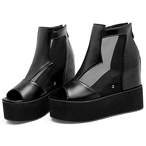 de Para Coolcept Cuna Mujer 1 Black Zapatos Tacon Irrxw61