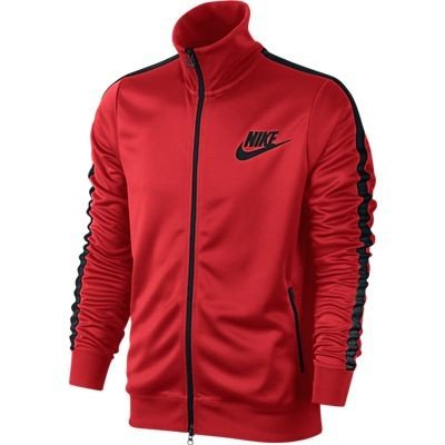 Nike Herren tribute track Jacke Challenge redblackblack