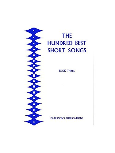 The Hundred Best Short Songs - Book Three pdf