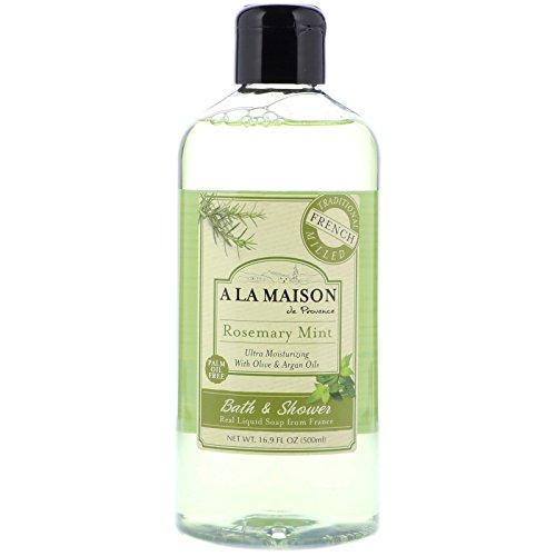 (A La Maison Shower Gel, Rosemary Mint, 16.9 Fluid Ounce )