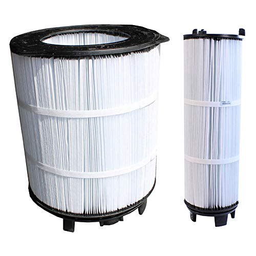 Pool Cartridge Filter (Sta-Rite S7M120 System 3 Pool Filter Inner & Outer Modular Media Cartridge Set)