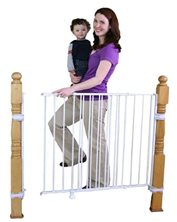 Superior Regalo Extra Tall Top Of Stairs Gate, With Mounting Kit, White By Regalo