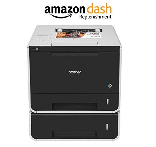 Brother Printer HLL8350CDWT Wireless Color Laser Printer, Amazon Dash Replenishment Enabled by Brother (Image #3)