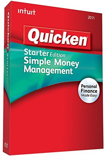 Quicken Deluxe Set Goals & Save More Personal Finance 2011 (Quicken For Xp)