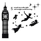 Peter Pan, Wendy, John, Michael and Tinker Bell