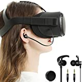in-Ear Earbuds Earphones Compatible with Oculus Quest VR Headset with Earphone Storage Box