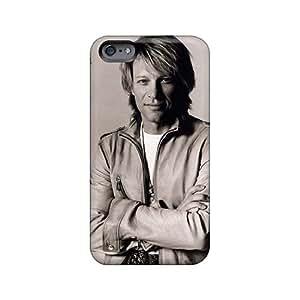 Perfect Hard Cell-phone Case For Iphone 6plus (otJ378YzXA) Unique Design Beautiful Bon Jovi Skin
