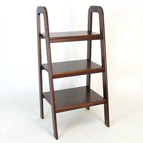 Wayborn Home Furnishing Ladder Stand, Black