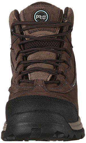 Boot Work Hiker Ratchet Leather Timberland Brown Nubuck PRO Women's IxBwX4