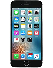Apple iPhone 6S, 16GB, Space Gray - Fully Unlocked (Renewed)