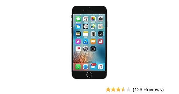 Apple iPhone 6S, 128GB, Space Gray - Fully Unlocked (Renewed)