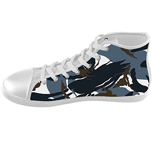 Personnalisé Camouflage Enfants Toile Chaussures Chaussures Chaussures Chaussures.
