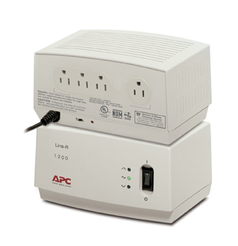APC LE1200 Line-R 1200VA Automatic Voltage Regulator, Beige