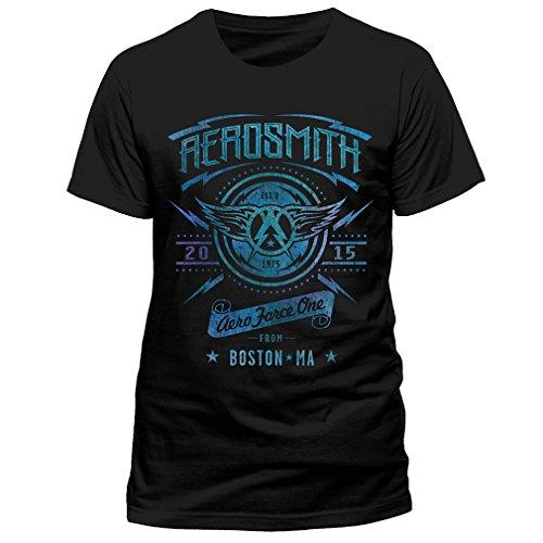 para Aero Force One Camiseta hombre Aerosmith 0xU4dw
