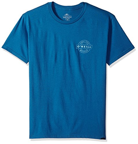 - O'Neill Men's Modern Fit Front and Back Logo Short Sleeve T-Shirt, Tailgate Air Force Blue, XL