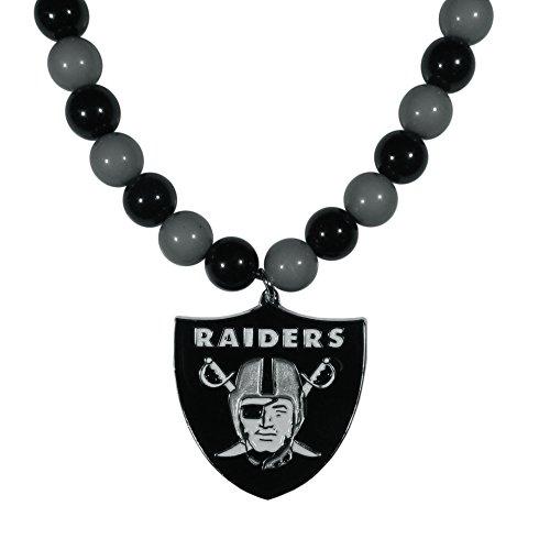 Siskiyou NFL Oakland Raiders Fan Bead -