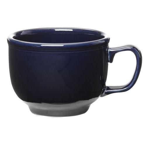 - Homer Laughlin China Fiesta Cobalt Blue 18 oz Jumbo Cup