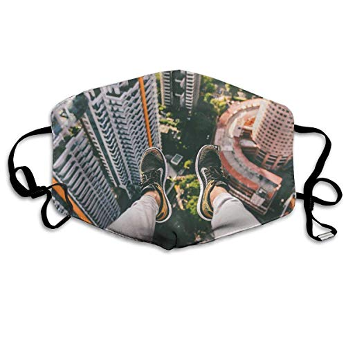 Anti Dust Face Mouth Cover Mask Parkour Over Building Anti Pollution Breath Healthy Mask -