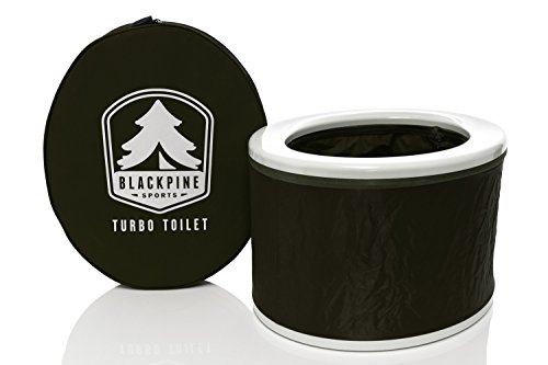 Blackpine Sports Turbo Toilet, Green