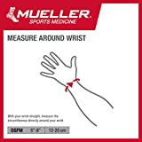 Mueller Fitted Wrist Brace, Gray, Right Hand, One