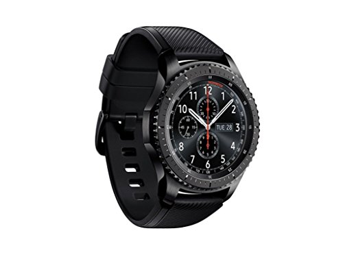 Samsung - Gear S3 Frontier Smartwatch 46mm Stainless Steel