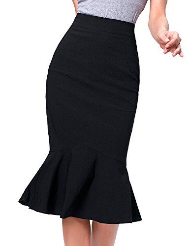 Donna Gonna Kate Nero Kasin Collections Fashion Astuccio UqRBT4R