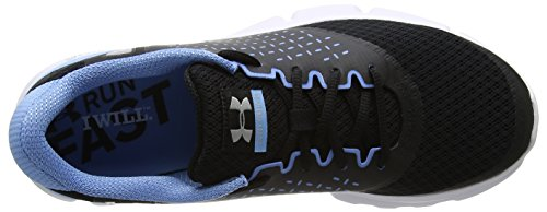 Under Armour Men's Ua Micro G Speed Swift 2 Running Shoes, BTN/Ubl/WHT, M US Black (Black 002)