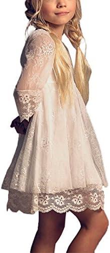 PLwedding Vintage Flower Dresses Sleeves