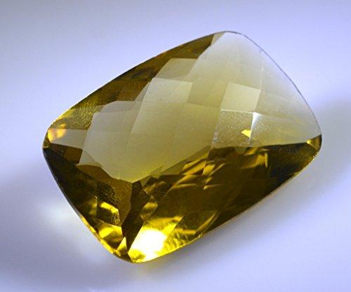quartz lemon pierres précieuses en vrac 1 pièces 20 x 30 mm émeraude pierres précieuses facettes jaune