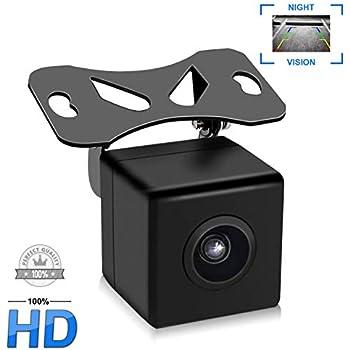 Amazon.com: 360° HD CCD Waterproof Car Rear View Reverse ...