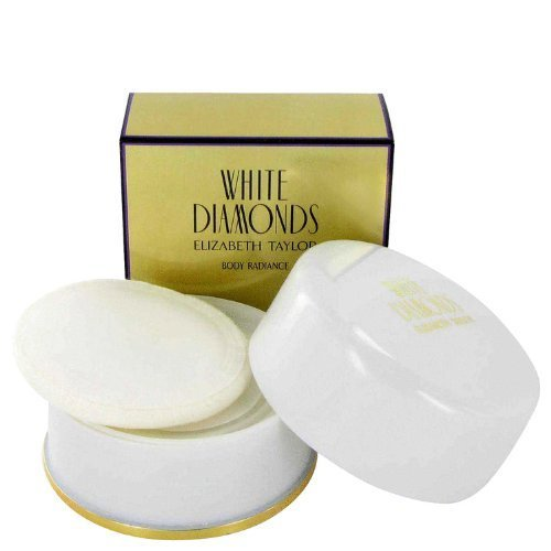 - WHITE DIAMONDS by Elizabeth Taylor Women's Dusting Powder 2.6 oz - 100% Authentic