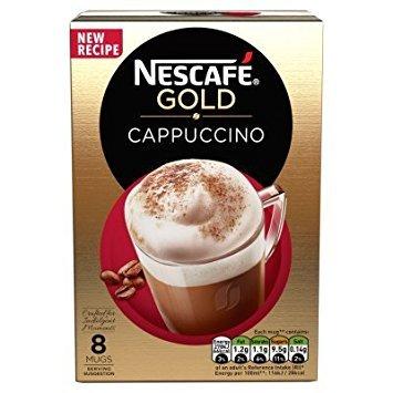 Sachet Gold (Nescafe Gold Cappuccino 8 Sachets)
