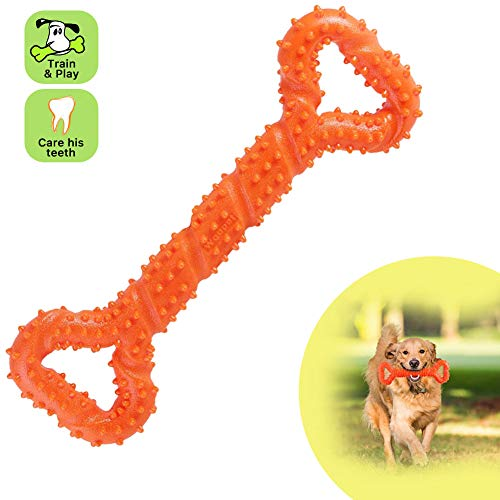 Eleangel Dog Toys – Durable Dog Chew Toys for Aggressive Chewers – Teeth Cleaning – Safe Bite Toothbrush Stick for Large…