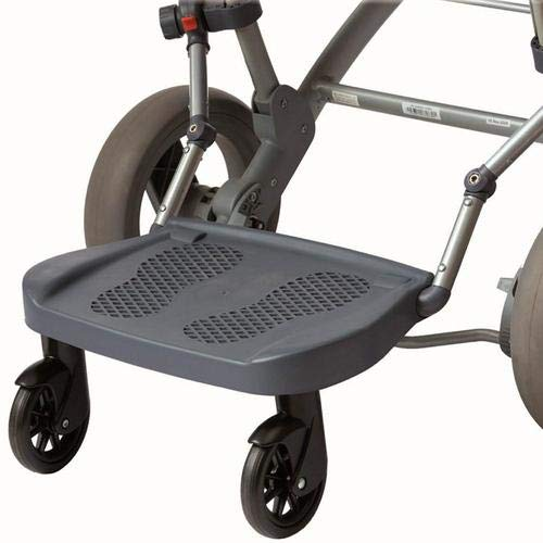 Baby Stroller Ride On Hitch Board Universal Glider Board for Joggers,Bugaboo Prams Up to 62 LB for Ages Two to Five…